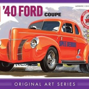 """Amt 40' Ford Coupe """"original Art"""""""