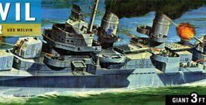 Blue Devil Destroyer 1/125