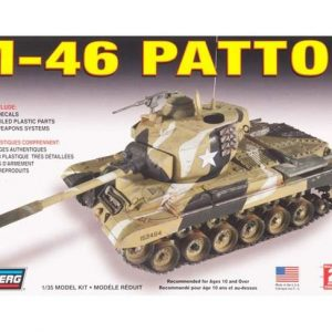Lindberg M-46 Patton Tankki 1/35