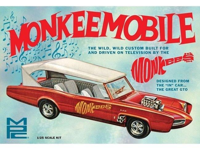 Mpc Pontiac Gto Monkeemobile