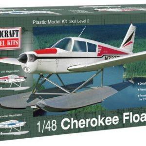 Piper Cherokee Sjöflygplan 1/48