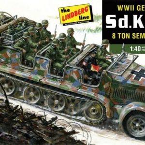 Tysk Half-Truck 5d Kfz 7 1/40
